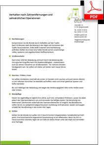 Patienteninfo OP-Oberkieferhöhle Zahnarztpraxis Dr. med. dent Karl-Uwe Jülich